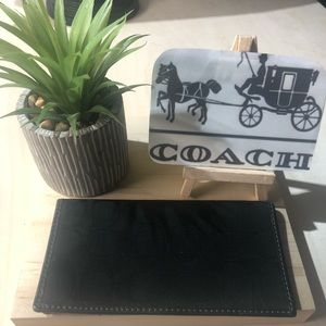 Coach -Check Book Cover